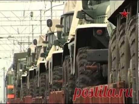 Переброска военной техники на Дальний Восток