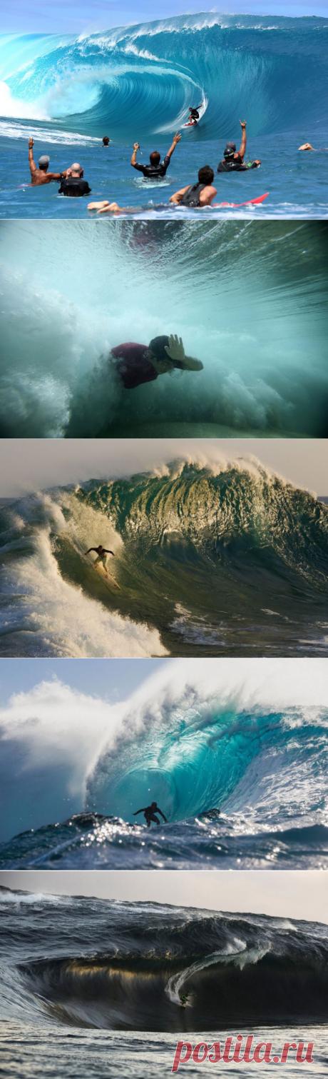 Лучше волн могут быть только волны / Туристический спутник