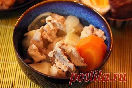 """""""Нику дзяга"""", или мясо с картошкой по-японски - Вкусно с Любовью - медиаплатформа МирТесен"""