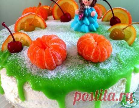 Цветная глазурь для подтёков на торте – кулинарный рецепт