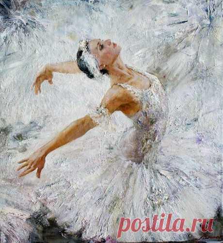 Анна Виноградова. Полет души на крыльях танца.