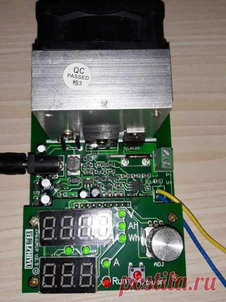 Обзор электронной нагрузки ZPB30A1 для проверки аккумуляторов.   ElektroTechLife   Яндекс Дзен