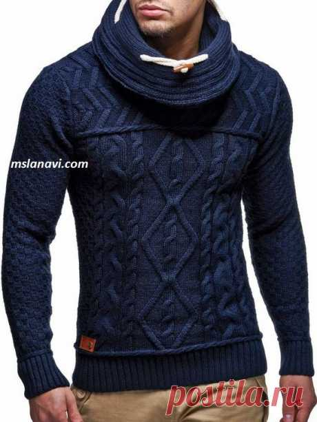 Men's sweater spokes | we Knit with Lanah Vee