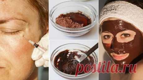 ЗАБУДЬТЕ О БОТОКСЕ! Эта маска удаляет морщины после второго использования! — Полезные советы