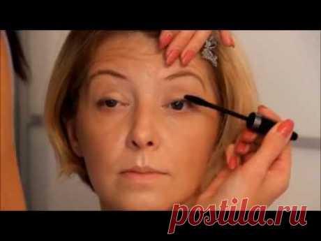 El maquillaje después de 35 40 45 50 55 60 años. El maquillaje natural.