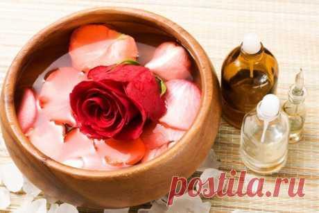 Косметологические рецепты из лепестков роз