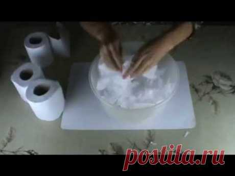 Artesanato: Massa de papel marche