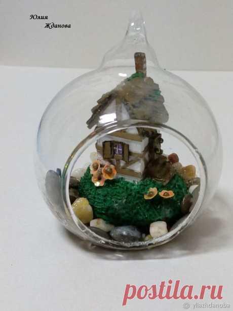Изготавливаем миниатюру в шаре - Ярмарка Мастеров - ручная работа, handmade