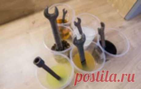 Несколько простых методов отчистить ржавчину