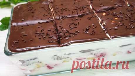 Трайфл, десерт которому уже больше 400 лет