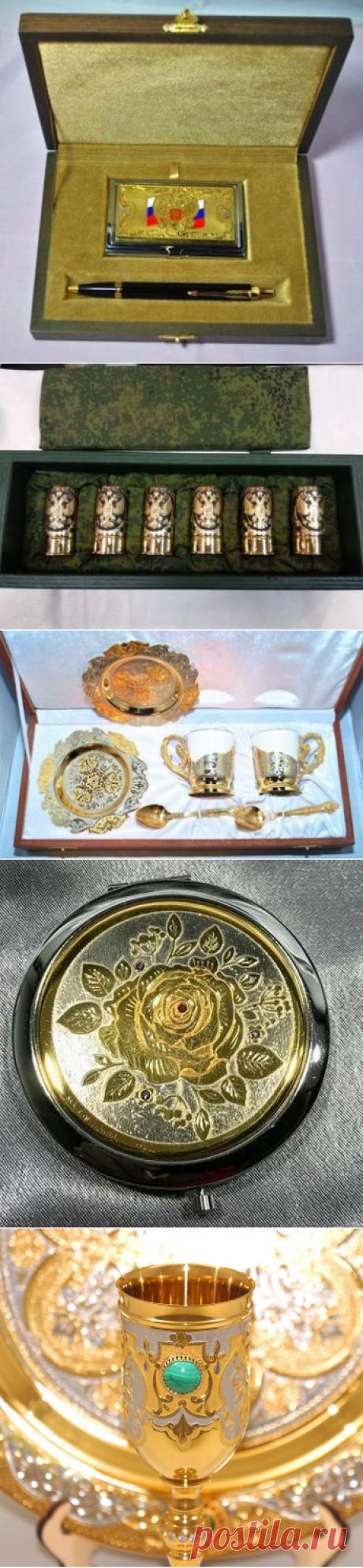 Элитные сувениры Златоуста в Москве