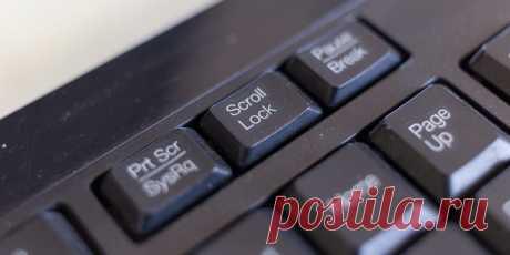 Зачем нужна клавиша Scroll Lock и как сделать её полезной - Лайфхакер