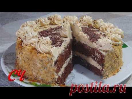 Торт Новогодний. Очень Бюджетный Вариант,но Безумно Вкусный!|New Year Cake - YouTube