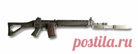 SIG SG 550 штурмовая винтовка