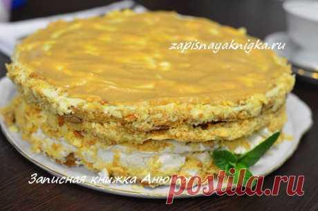 Самый вкусный домашний торт а-ля Паоло с тремя видами коржей и двумя видами крема! Удивите близких!