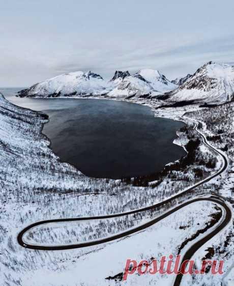 Норвегия, дороги, изгибы - Всяк вошедший - потенциальный друг! — ЖЖ