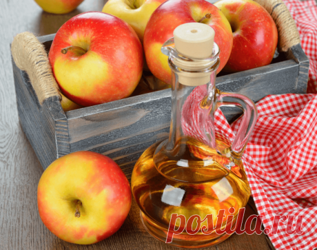 Узнайте зачем принимать яблочный уксус вечером? — Всегда в форме!