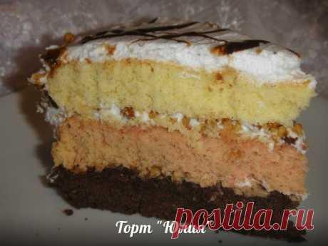 Шикарный торт «Юлия» — гости в восторге! Шикарный торт «Юлия» — гости в восторге!