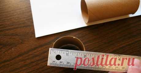 Не стоит выбрасывать втулки от туалетной бумаги! 20 блестящих способов использовать их снова.