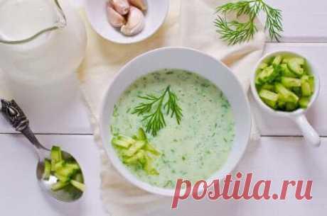 Низькокалорійний суп з огірків і авокадо - Моє здоров'я