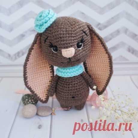 1000 схем амигуруми на русском: Милая зайка крючком