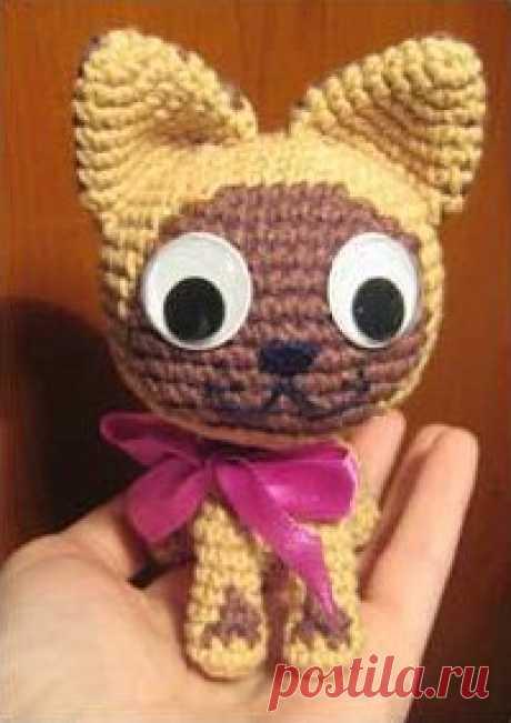 Поиск на Постиле: котенок гав крючком