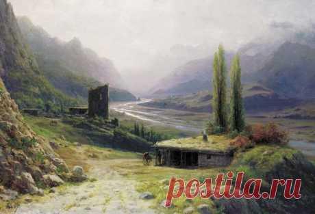картина художника Льва Лагорио – 16