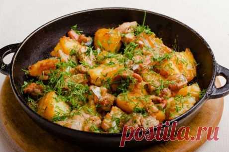 Картофель с мясом по-гречески — Sloosh – кулинарные рецепты