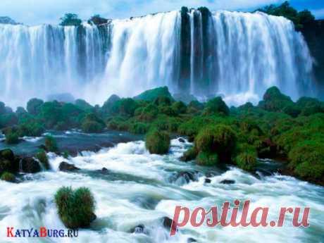 Водопады мира картинки (36 фото) видео
