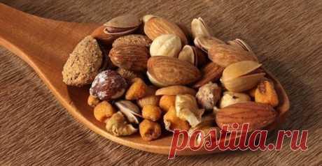 О пользе орехов — Мегаздоров