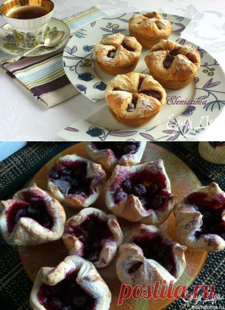 Пирожки с вишней | Кулинарные рецепты от «Едим дома!»