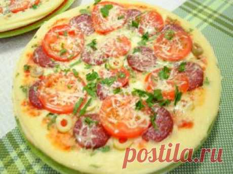 Пицца на сковороде за 10 минут: 5 рецептов | Вкусные рецепты