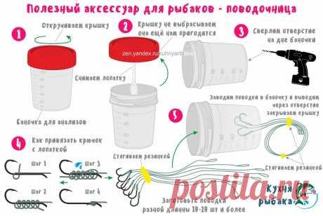 Полезный аксессуар для рыбаков - поводочница | Кухня рыбака | Яндекс Дзен