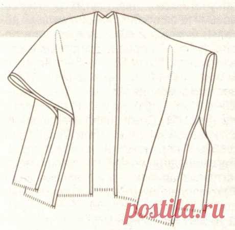 4 накидки (очень простые выкройки пальто) / Простые выкройки / ВТОРАЯ УЛИЦА