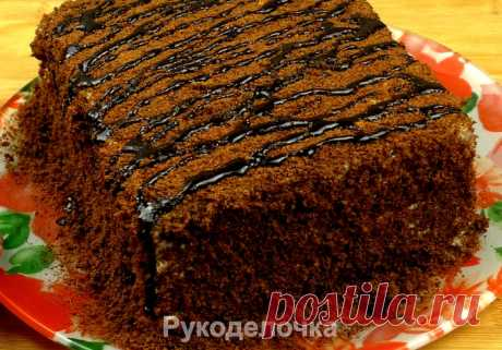 Быстрый шоколадный Торт, за 25 минут вместе с выпечкой.