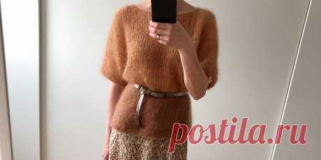 Пуловер-кимоно Kim - Вяжи.ру