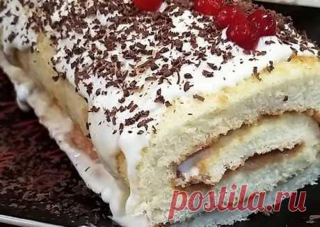 (5) Рулетик 🍒 - пошаговый рецепт с фото. Автор рецепта lera_foodbloger . - Cookpad