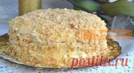 """Обалденный торт """"Пломбир"""" – и никакая духовка не нужна   Кулинарушка - Вкусные Рецепты"""