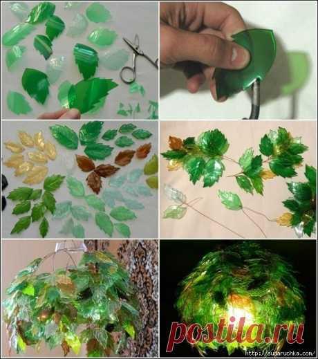 Пластиковая бутылка - способы использования. Идеи декора.
