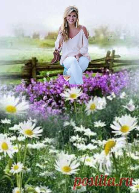 Тёплыми, цветочными шагами, в мир приходит Лето не спеша... Пусть оно подарит много счастья и в ромашках зацветёт душа! Инет.