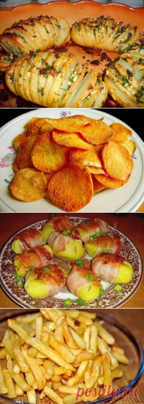 10 вкусных рецептов из картофеля ✨