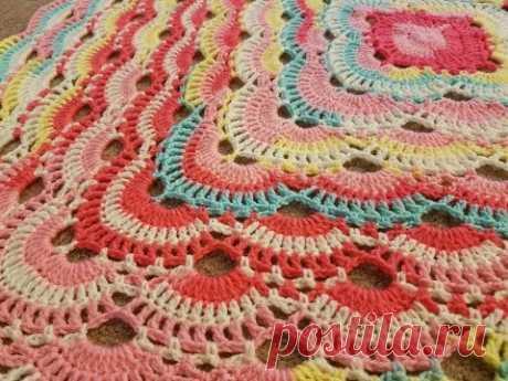 The Virus Blanket Crochet Tutorial!  (Part 1)