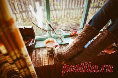 Осенью хорошо начинать... Медитировать, вышивать, создать свой блог – да все, что угодно...