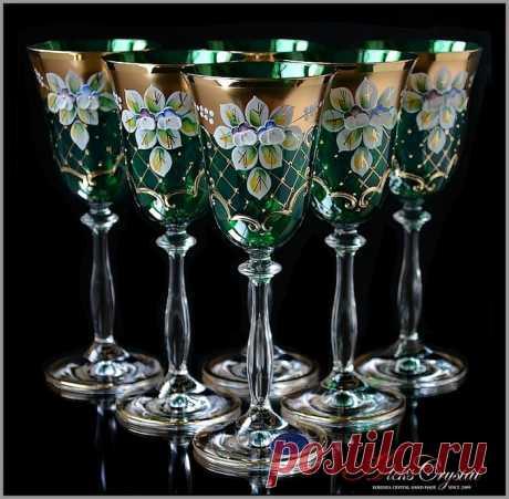 Богемское стекло - показатель роскоши и богатства
