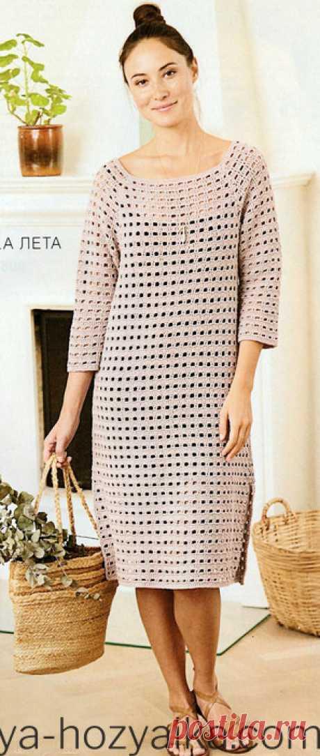 Вязаные платья на лето коючком. Схемы вязания платьев крючком с филейными узорами
