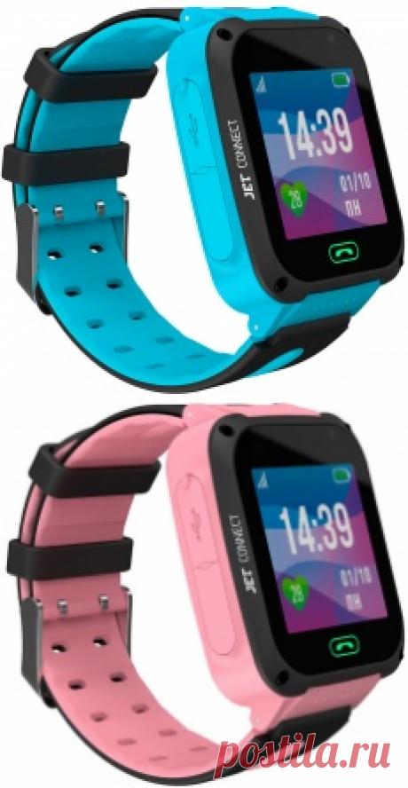 """Умные часы JET KID NEXT - звонки, отслеживание,электронный """"забор"""", прослушка - идеально для заботливых родителей! Большой выбор в интернет-магазине Связной"""
