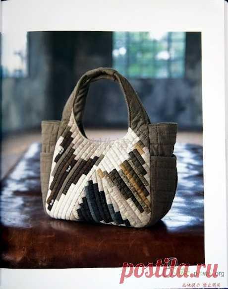 Оригинальные лоскутные сумки. Для вдохновения, очень много