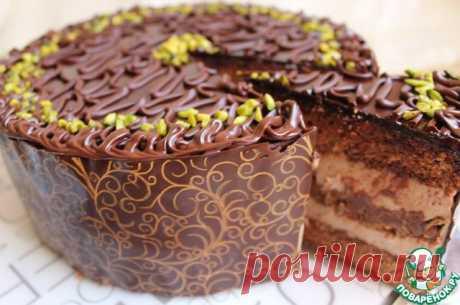 Торт шоколадно-банановый. Автор: Esenija