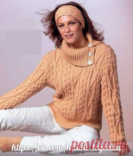 Пуловеры и туники теплые спицами | Записи в рубрике Пуловеры и туники теплые спицами | Дневник Marinichka