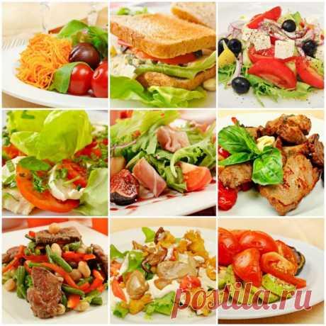10 принципов здорового питания: примерное меню на неделю